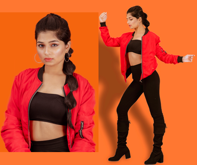 Fashion photography featuring model Aishwarya Adarkar