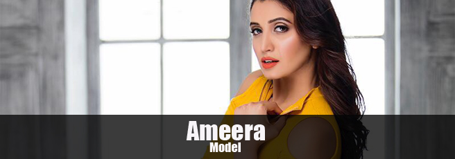 Bangalore based model Ameera