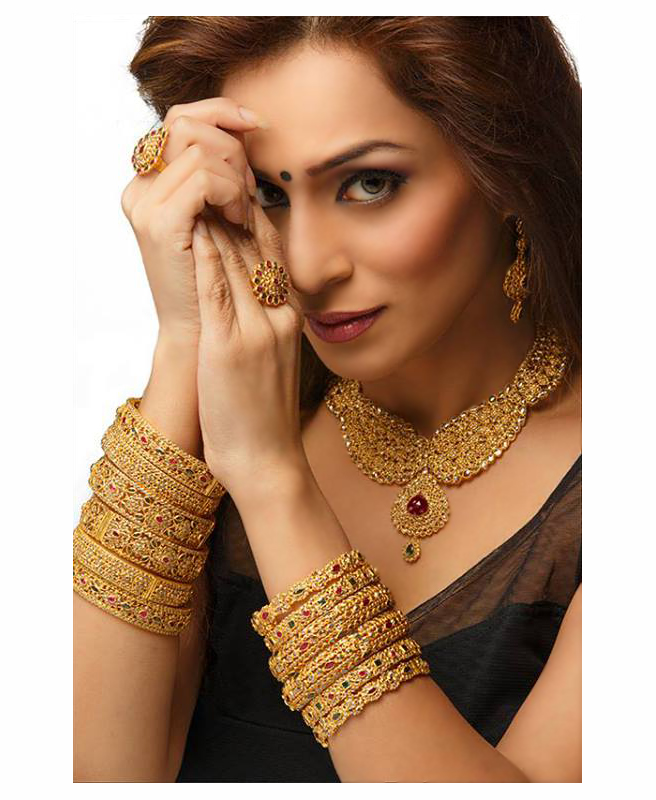 Actress Andria D'Souza photographed in Indian ethnic wear