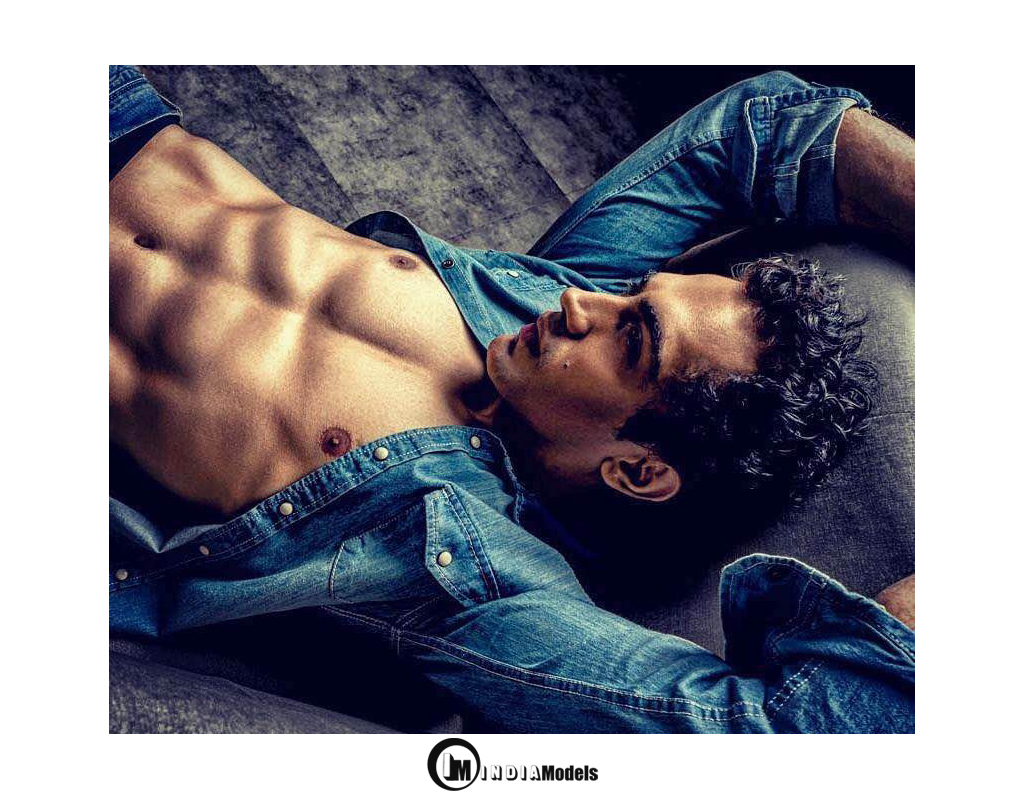 Indian male model Kashyap Shangari portfolio
