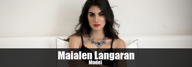 Model Maialen Langaran Profile