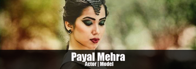 Female model Payal Mehra