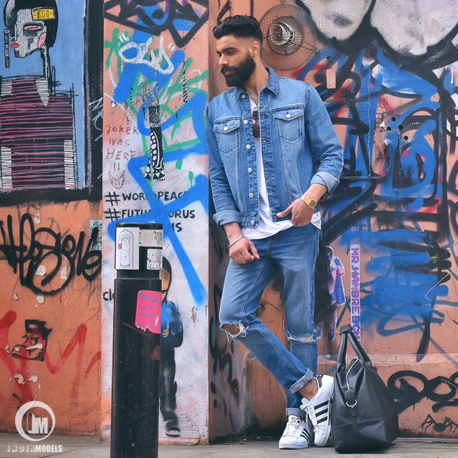 Street fashion by London based fashion blogger Prahjot Singh Bhullar