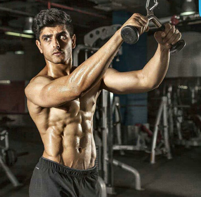 Indian Male fitness model Pratik Bhatia