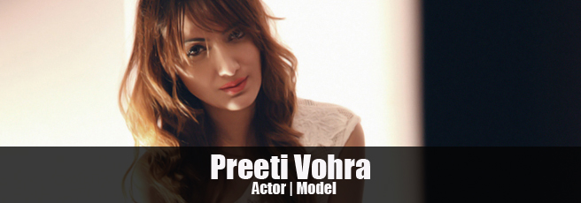 Model Preeti Vohra