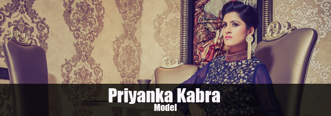 Priyanka Kabra  Indian fashion model