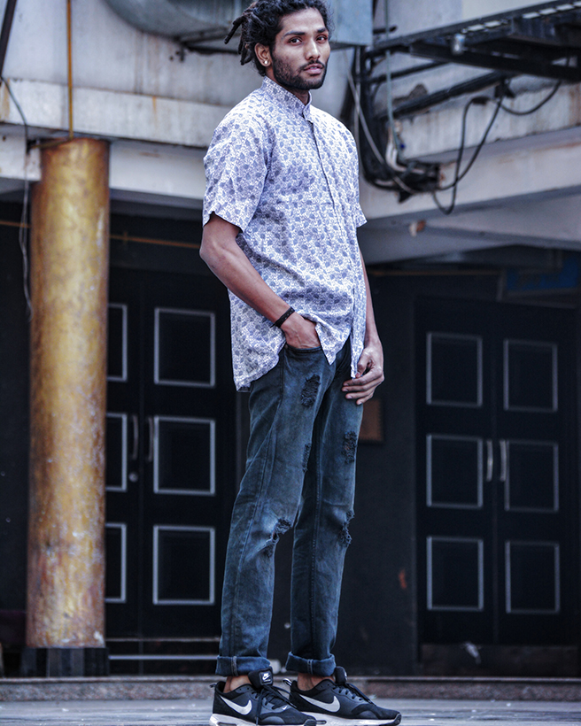 Streetstyle by New Delhi based Indian male model Rahul Vaid