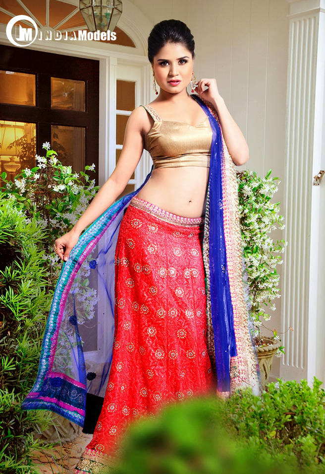 Gorgeous indian actress Ranjanaa Mishra in stunning ethnic wear