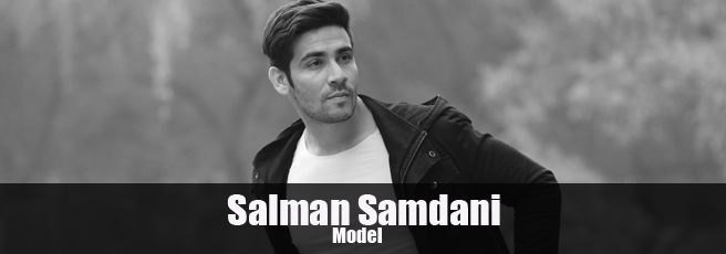 Salman Samdani Indian male model
