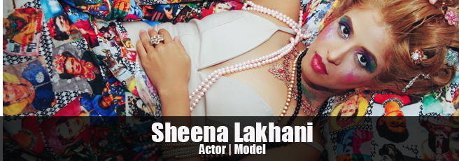 Model Sheena Lakhani