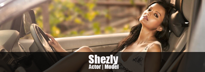 Shezly Mahendra  model