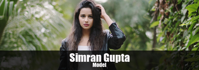 Simran Gupta Indian model