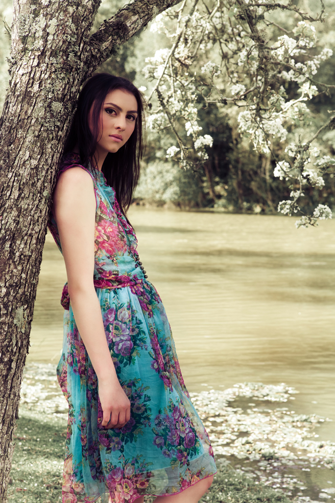 Outdoor photoshoot with beautiful fashion model Tatiane Ribeiro | India Models